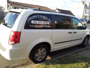 Cheswick Floral Delivery Van